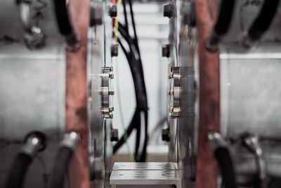 Machinery close up