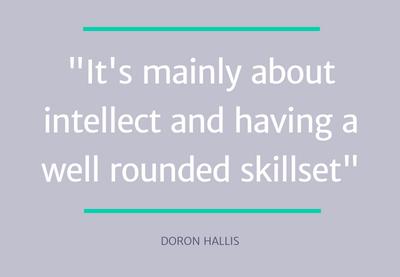 Doron Hallis quote - top pm skills