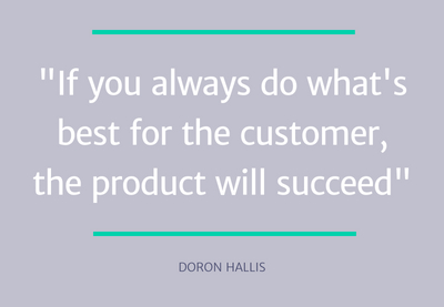 Doron Hallis - top pm skills quote 3