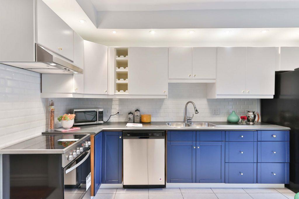 empty modern kitchen