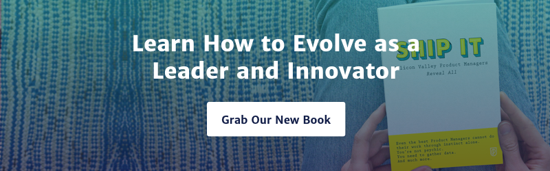 Ship it banner on how to be a leader and innovator.
