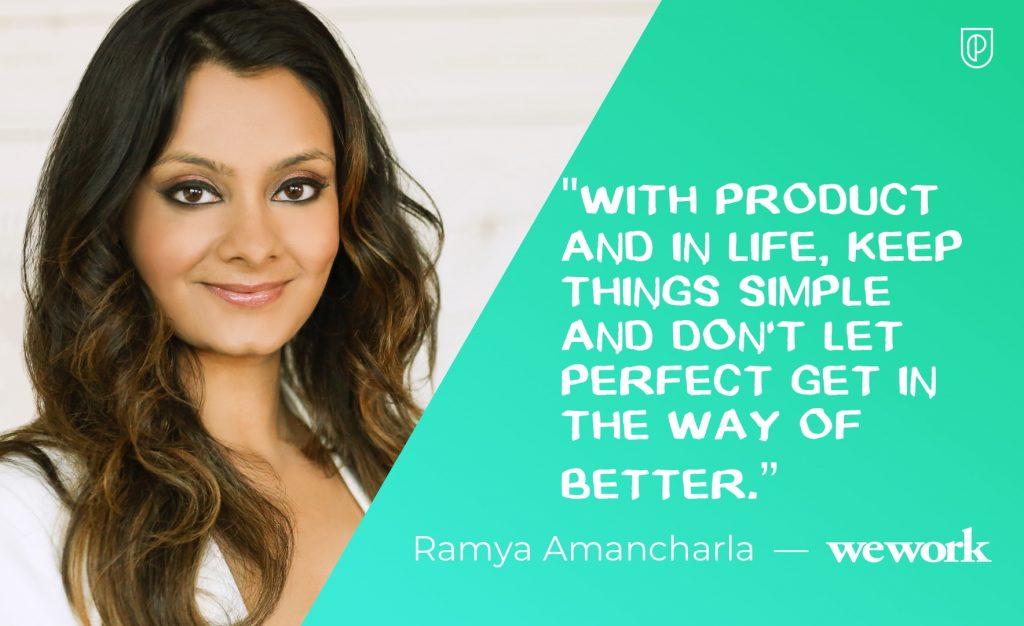 Ramya Amancharla WeWork