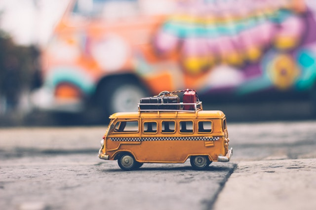 yellow bus ready for a trip
