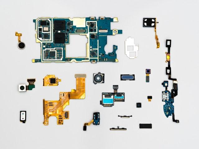 parts of machine