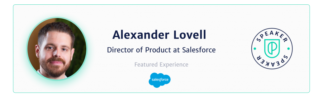Alexander lovell director of product at salesforce