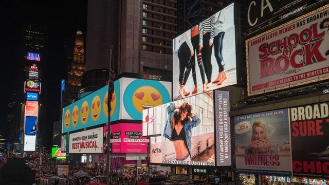 Advertisements broadway