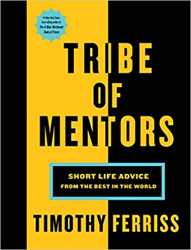 Tribe of Mentors book