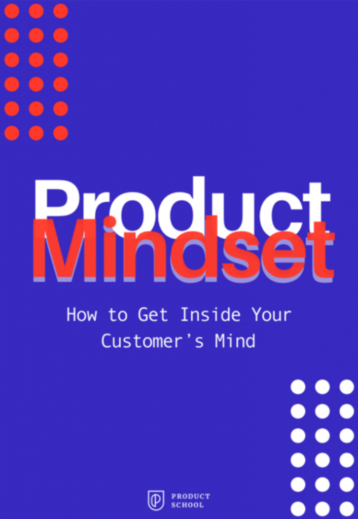 Product Mindset book