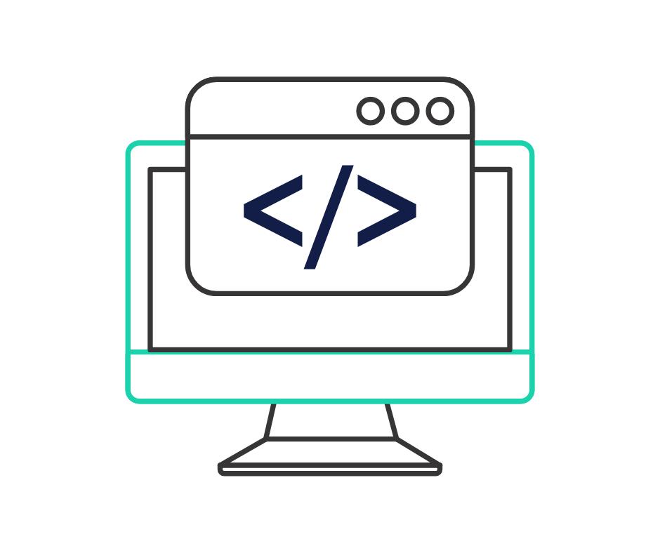 code graphic
