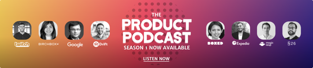 Product Podcast banner