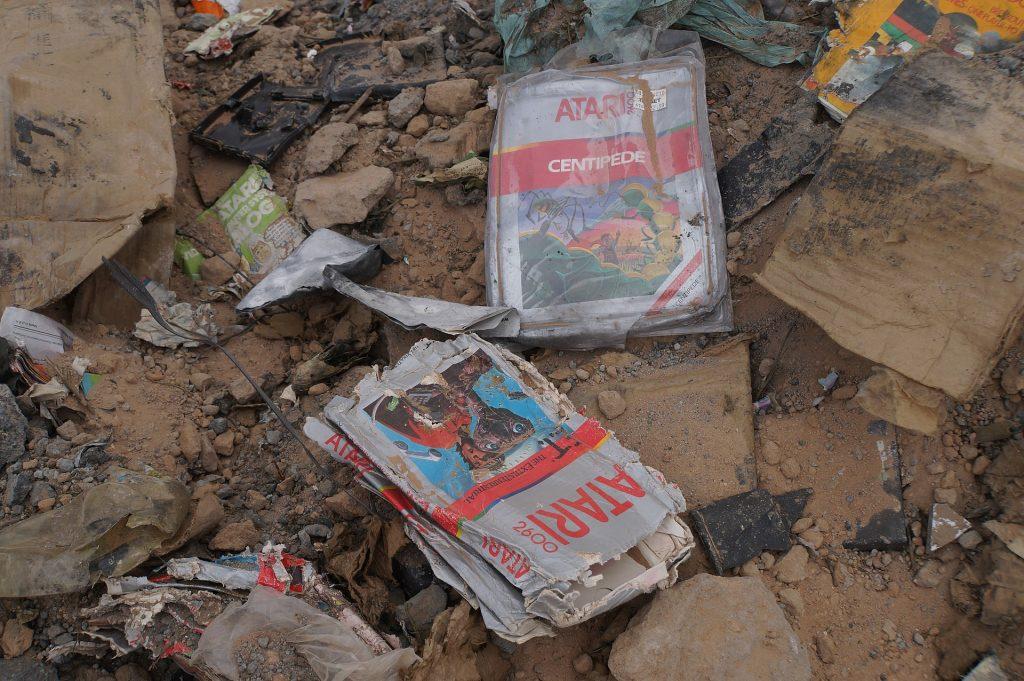 ET Atari landfill
