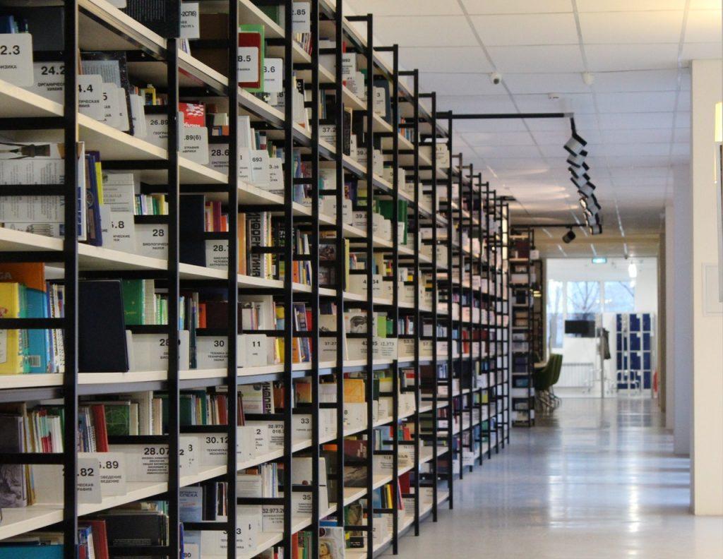 Well organized shelves