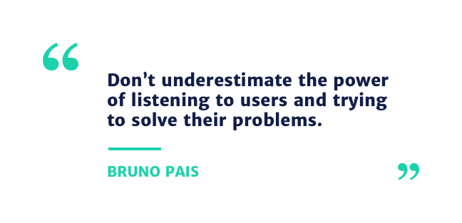 bruno pais quote