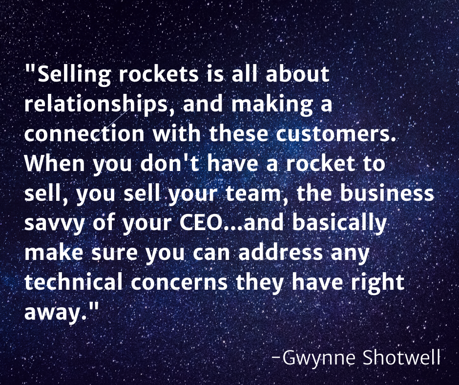 Gwynne Shotwell quote