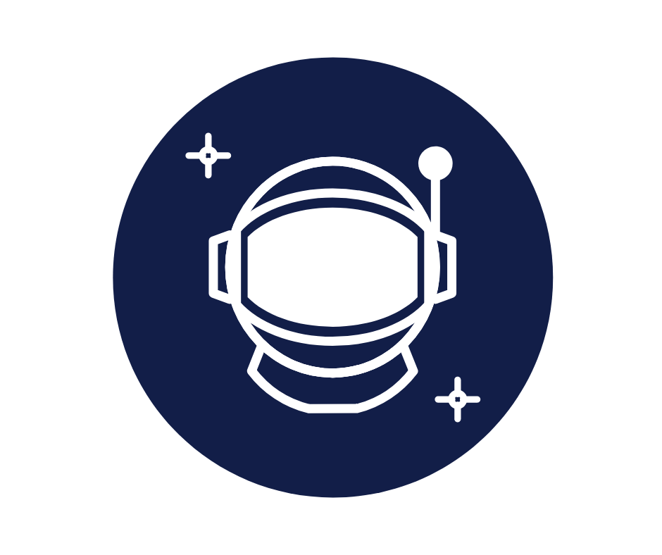 Astronaut graphic