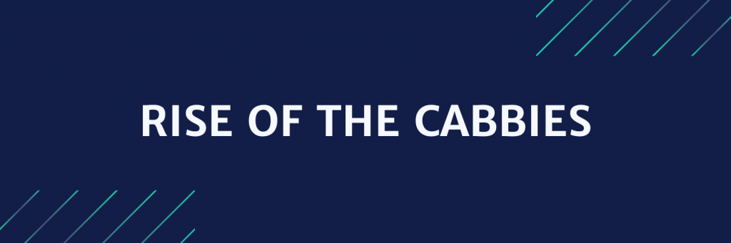 Rise of the cabbies news headline