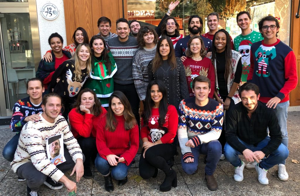 Christmas Jumper team photo