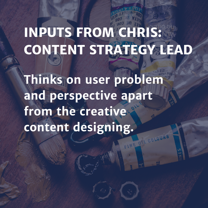 Inputs from Christ: Content Strategy Lead