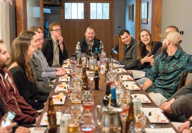 Social group meetup