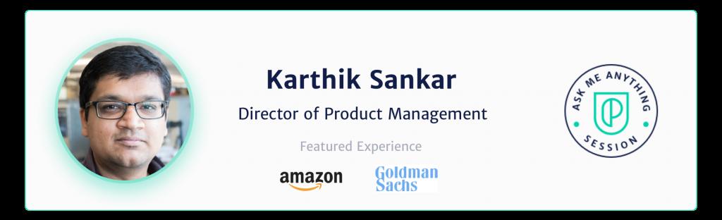 Karthik Sankar speaker image