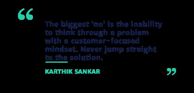 Karthik Sankar quote