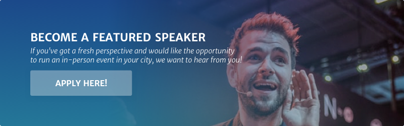 Featured speaker banner