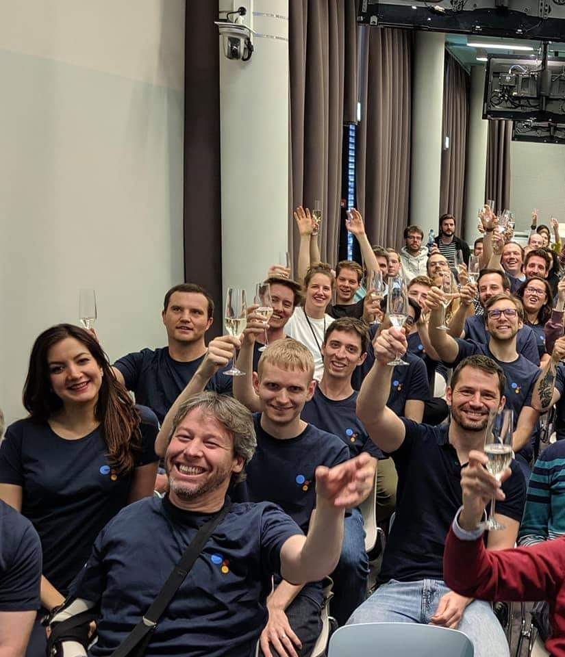 Google Team at Google IO Keynote