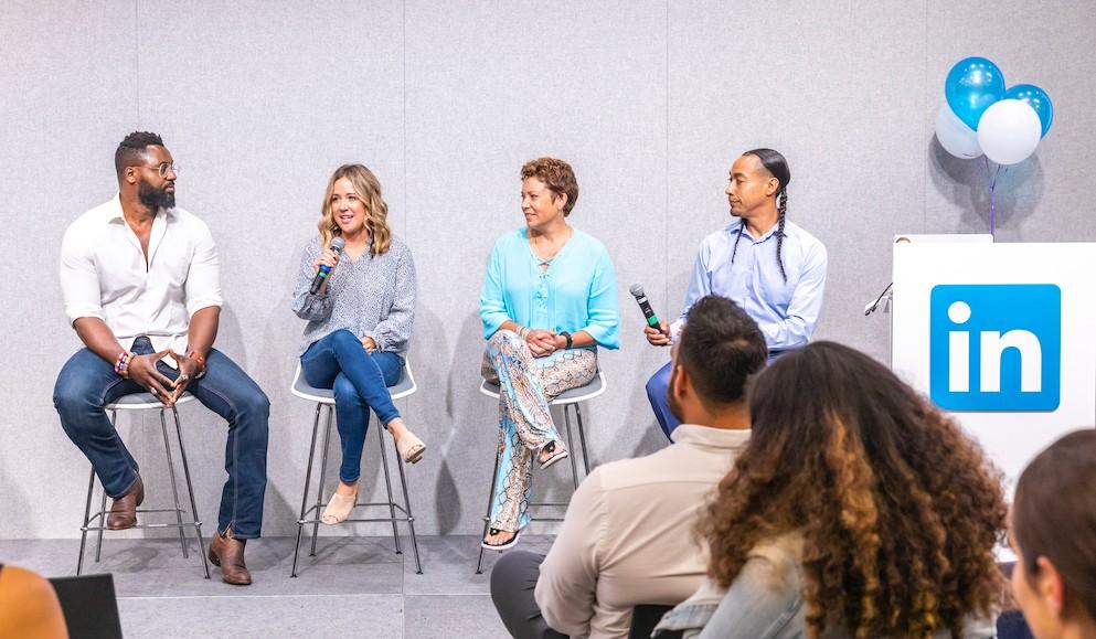 LinkedIn Diversity panel