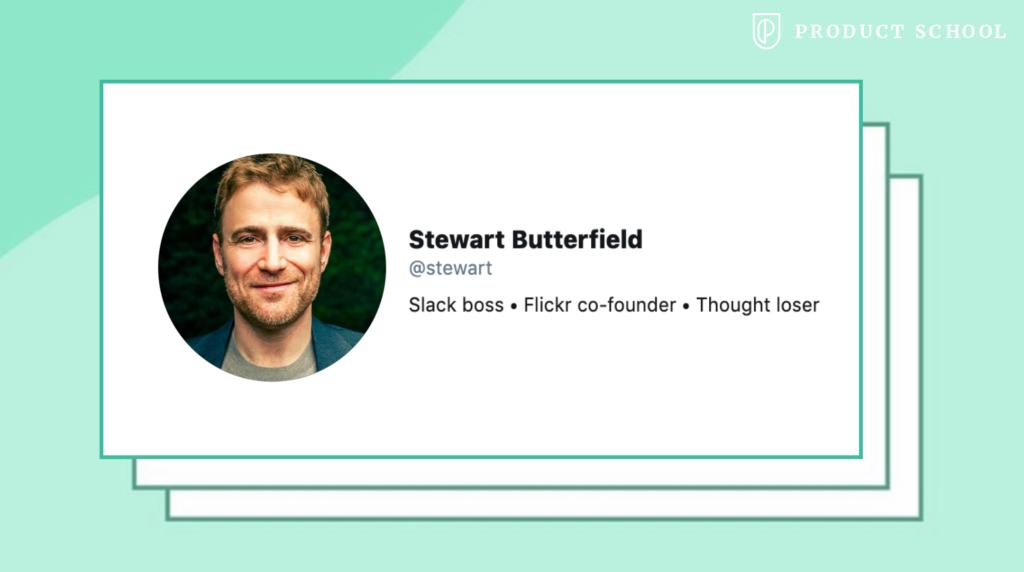 Stewart Butterfield Slack CEO