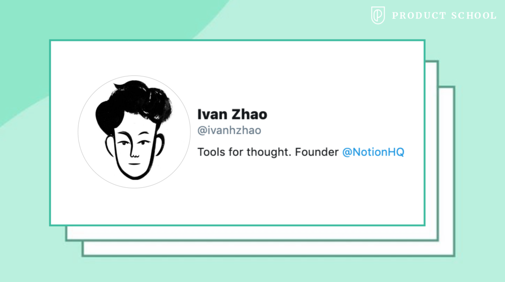 Ivan Zhao Notion CEO
