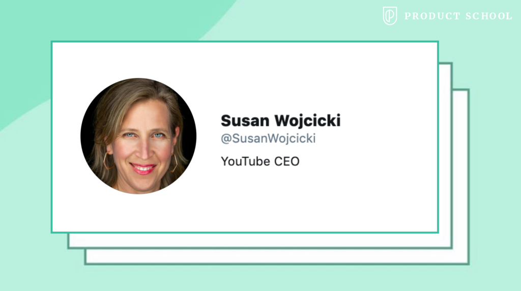 Susan Wojcicki YouTube CEO