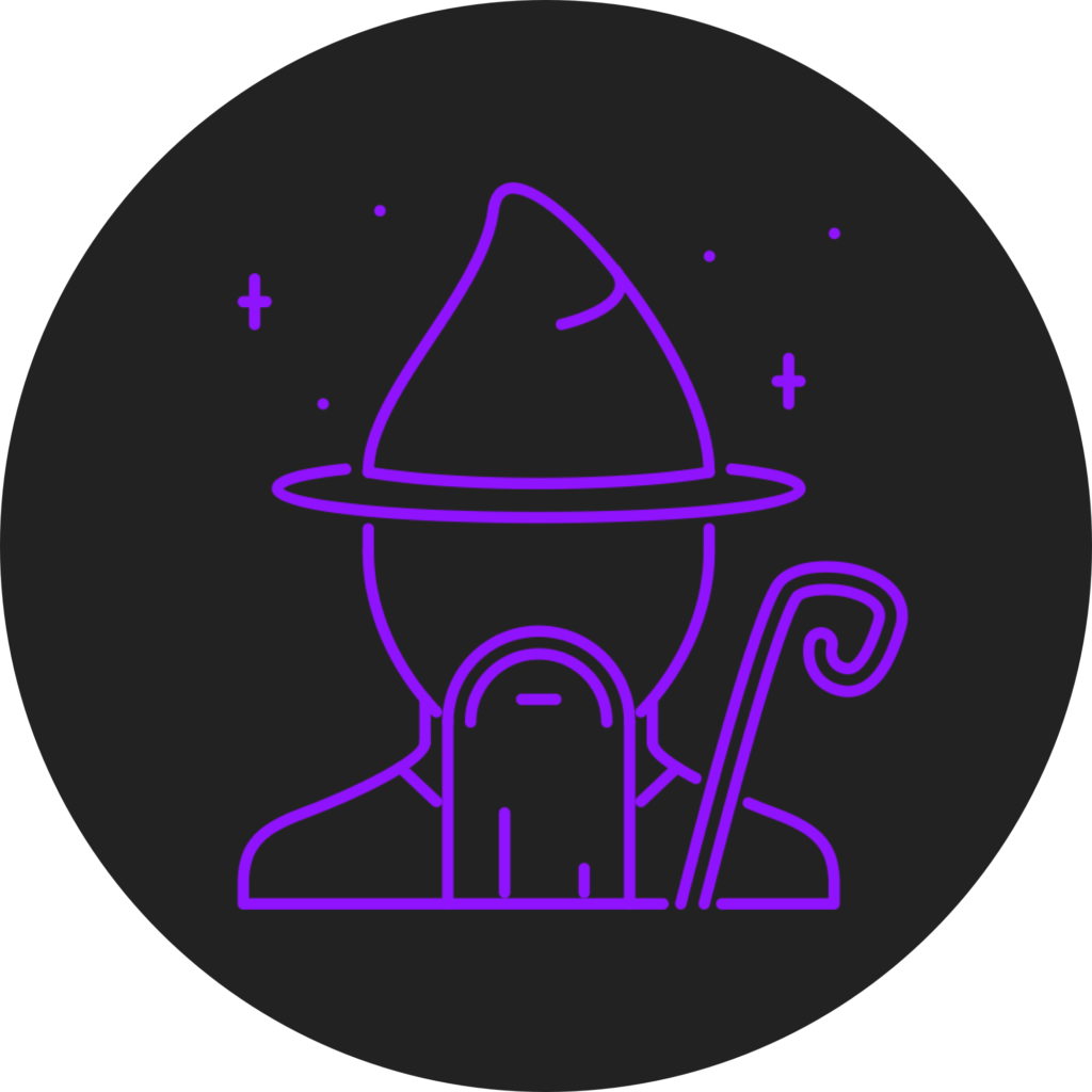 Wizard graphic