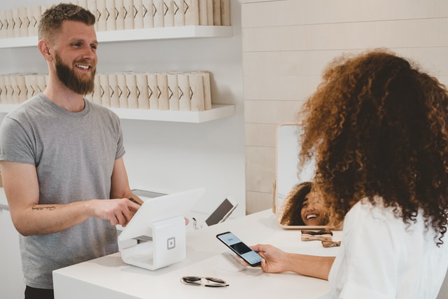 Customer sales