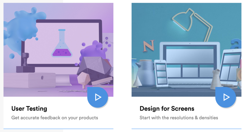 User Testing and Design for Screens