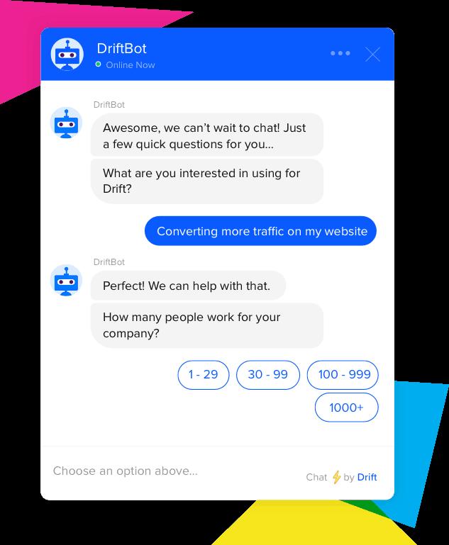 Drift Chat Bot
