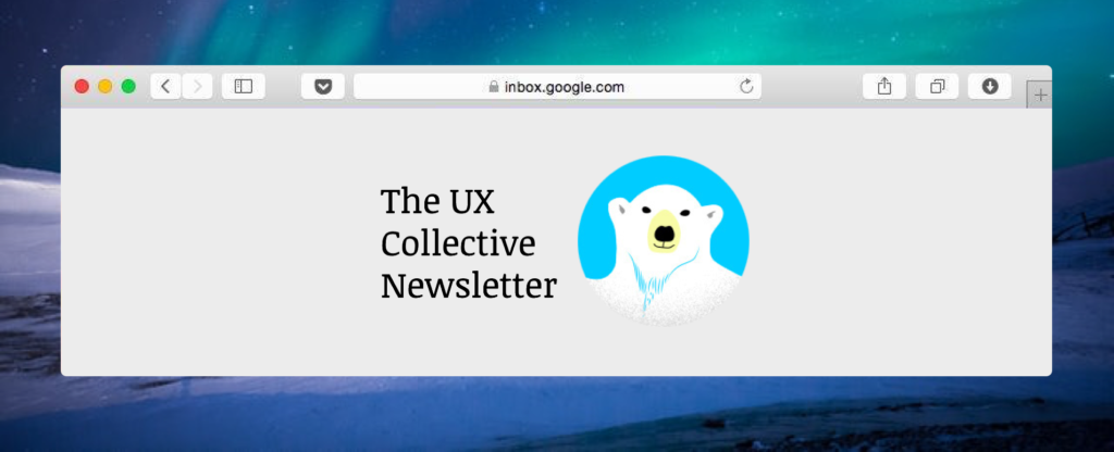 UX Collective Newsletter