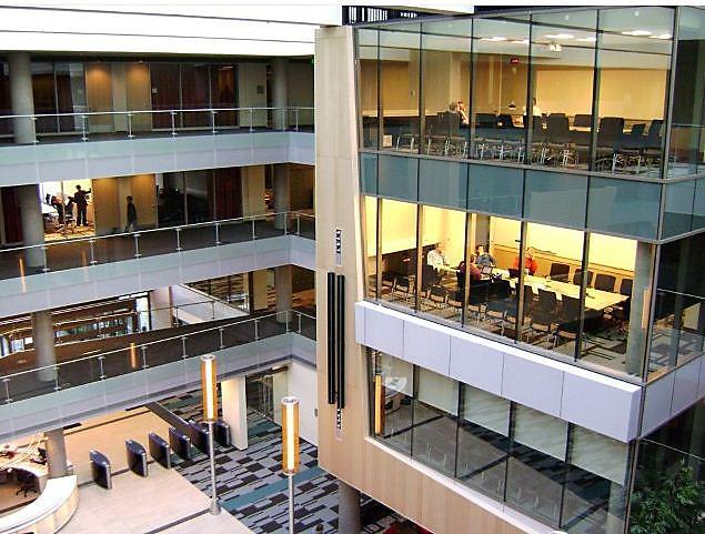 Microsoft's Redmond building