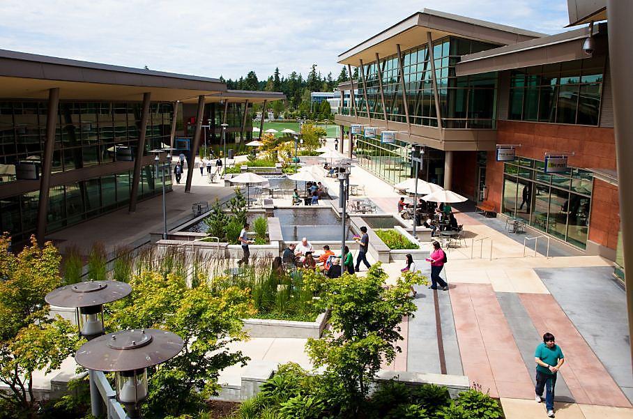 Microsoft's Redmond building: The Commons