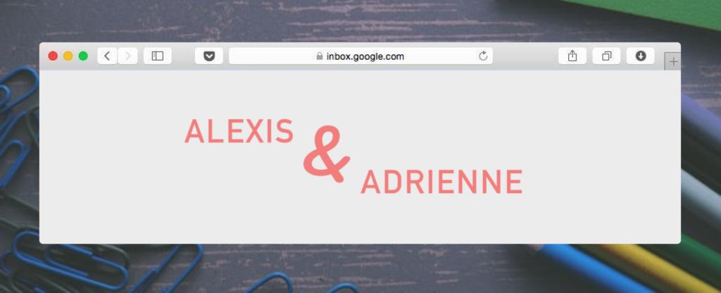 Alexis & Adrienne
