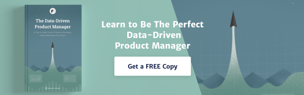 Data driven product manager banner