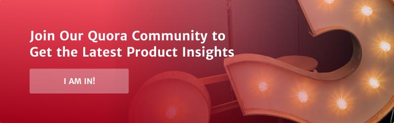 Quora community banner