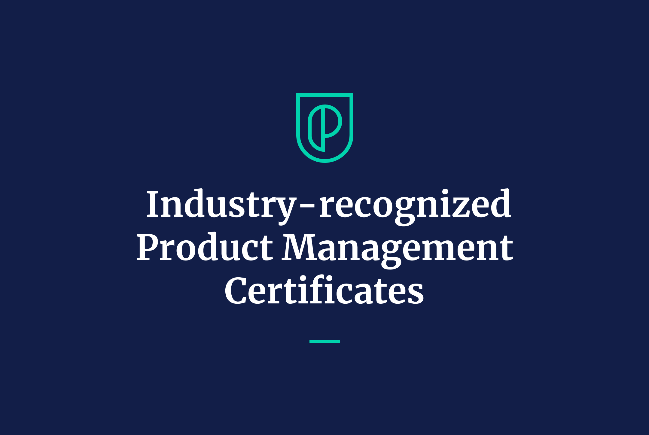 Product Manager Certification by Product School