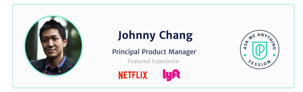 Principal Product Manager Netflix Johnny Chang