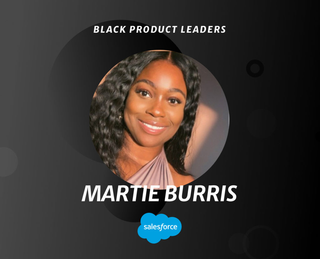 Martie Burris, Senior Product Manager at Salesforce