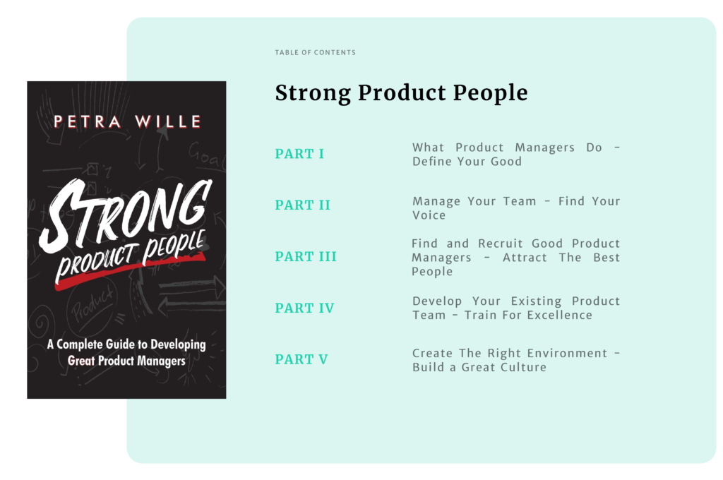 Strong Product People Book Contents