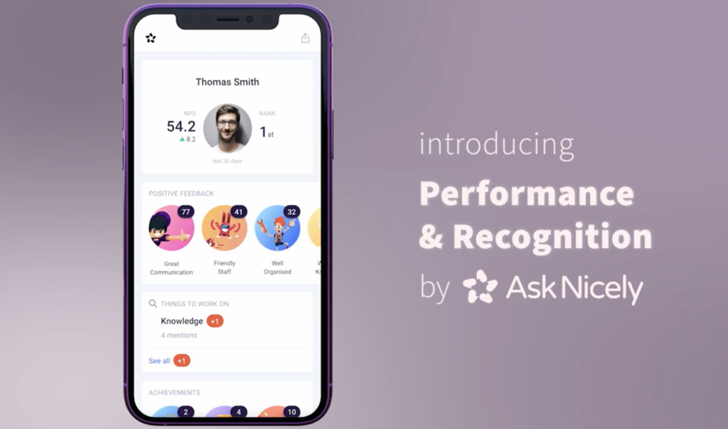 Screenshot of AskNicely