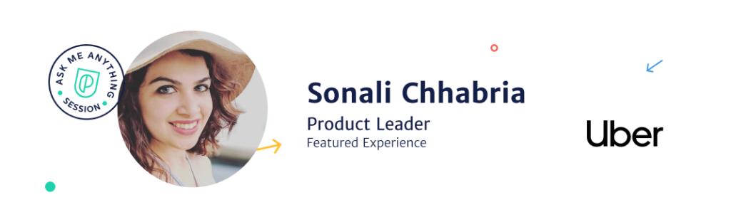Sonali Chhabria, Product Leader at Uber