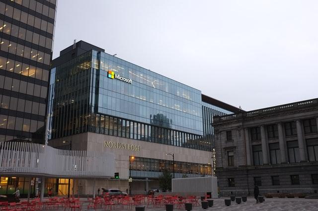 Microsoft work building