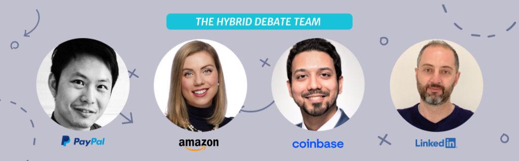 The Hybrid Debate Team